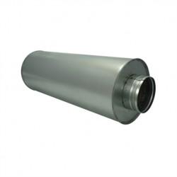 Silencieux rigide Ø125mm - 60cm
