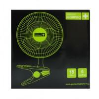 Ventilateur à pince - Ø15cm - 15W