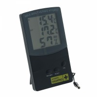 Thermo/hygromètre digital avec sonde T°